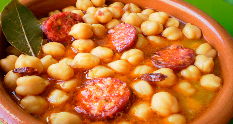 Receta de Garbanzos en Thermomix
